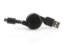 USB and mini USB Stock Photography