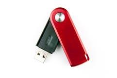 USB minnespinne Arkivbild