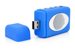 USB MP3-player Stockfotos