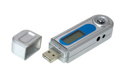 Usb mp3 player Stock Image