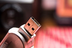 Usb mp3 player Royalty Free Stock Images