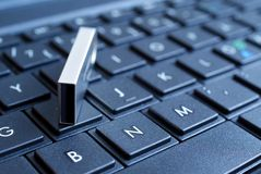 USB over Keyboard Royalty Free Stock Images