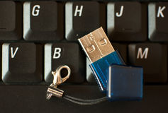 USB Pen drive Royalty Free Stock Photos