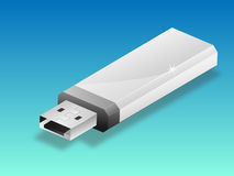 USB pen illustration Royalty Free Stock Photography