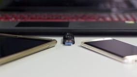 USB-penaandrijving Royalty-vrije Stock Fotografie