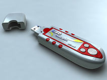USB pendrive Stock Photography