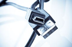 USB plug Stock Photos