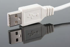 USB plug Royalty Free Stock Photos