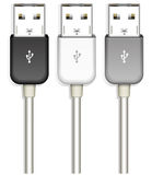 Usb plug Stock Photo