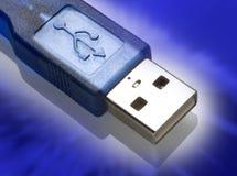 Usb plug-in Royalty Free Stock Image