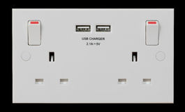 Free USB Plug Sucket Royalty Free Stock Photography - 72962337