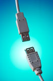 Usb plugs Royalty Free Stock Images