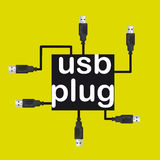 Usb plugs Stock Photos