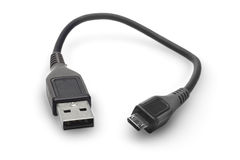 USB Plugs Stock Photography
