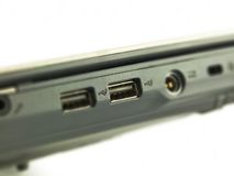 USB port Royaltyfri Foto