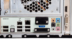 USB-Port stockbild