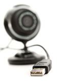 USB port webcam Stock Image