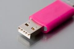 USB portable del accionamiento de disco de destello Foto de archivo libre de regalías