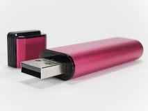 Usb portable del flash Imagenes de archivo