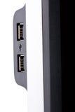 USB ports Stock Image