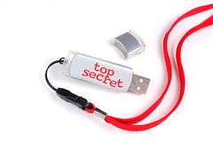 USB-Schlüssel Stockfotografie