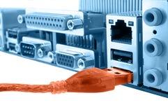USB schließen an lizenzfreies stockfoto