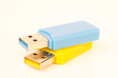 USB-Stöcke Lizenzfreie Stockfotos
