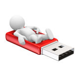 Usb stick Stock Photo