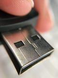 USB Stick Closeup Stock Image