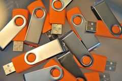 USB stick power Stock Photography