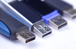 Usb sticks Royalty Free Stock Images