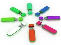 USB storage drive Stock Image