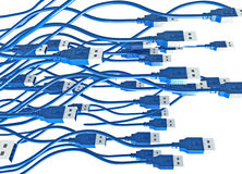 USB Swarm Royalty Free Stock Image