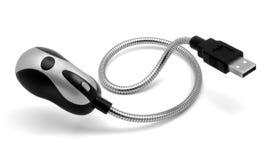 USB - Torcia elettrica. Fotografia Stock Libera da Diritti