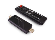 USB TV tuner Royalty Free Stock Images
