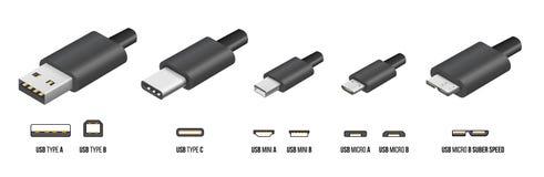 Free USB Type C Stock Image - 86692921
