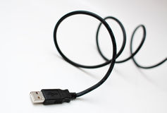 Usb wire Royalty Free Stock Photos