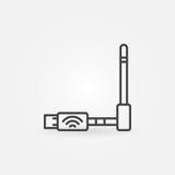 USB Wireless modem icon Stock Photos