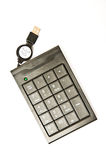 USB-Zahl Tastatur lizenzfreie stockfotografie