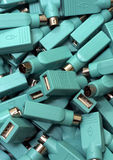 USB zu PS2 Stockfotos
