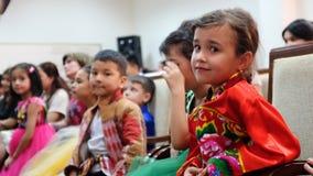 Usbekistan-Mädchen Stockfotografie