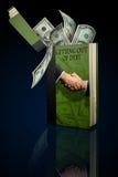 Uscendo del debito Immagini Stock