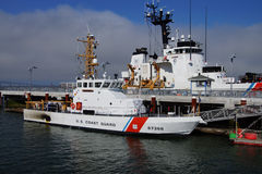 USCG cutter Steadfast  and patrol boat Terrapin Stock Images