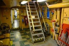 USCGC Ingham (WHEC-35)客舱 图库摄影