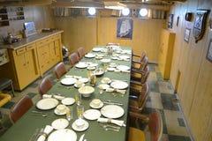 USCGC Ingham (WHEC-35) Room上尉 库存图片