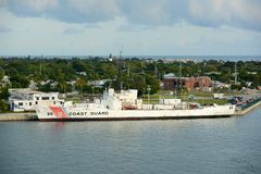 USCGC Ingham (WHEC-35) 免版税库存照片