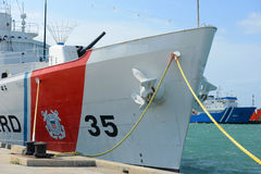 USCGC Ingham (WHEC-35) Stock Photos