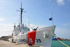 USCGC Ingham (WHEC-35) Royalty Free Stock Photo