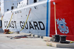 USCGC Ingham (WHEC-35). A decommissioned United States Coast Guard Cutter, was originally served in US Navy in WWII. She is the ship museum located at Key West Stock Photo