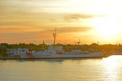 USCGC Ingham WHEC-35, Key West, U.S.A. fotografia stock libera da diritti